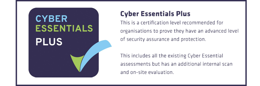 Cyber Essentials Plus is a simple but effective, Government backed scheme technically verified by experts to ensure Viking Arms customer data is protected.