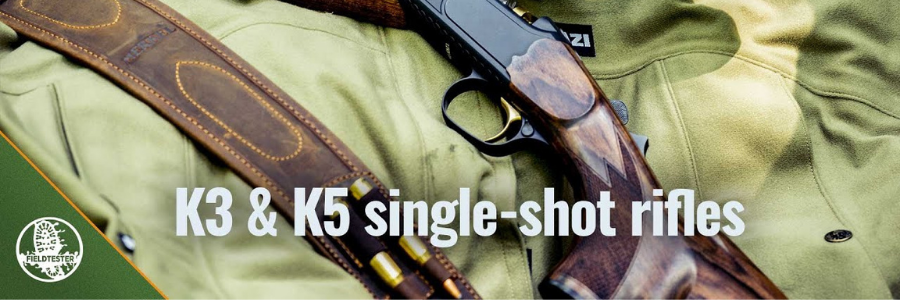 Single shot rifles of the Merkel K class have gained a special reputation for distance shooting among precision marksmen. These single barrel guns are predestined for hunting in mountainous regions and for deerstalking.